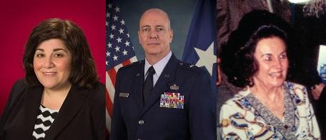 L to R: Gail Bagazzoli, Christopher Eddy, Phyllis Marcus.